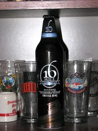 16 Mile Brewing Company Bottle