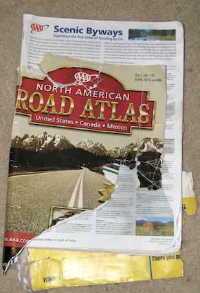 AAA Driving Map of North America
