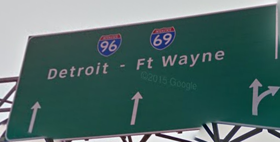 Lansing Michigan Interstate