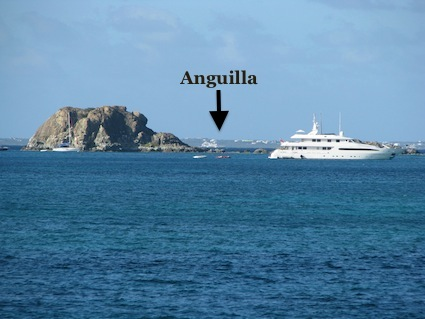 Anguilla Viewed from St. Martin