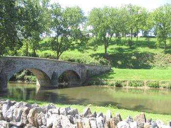 Burnside Bridge at Antietam Battlefield