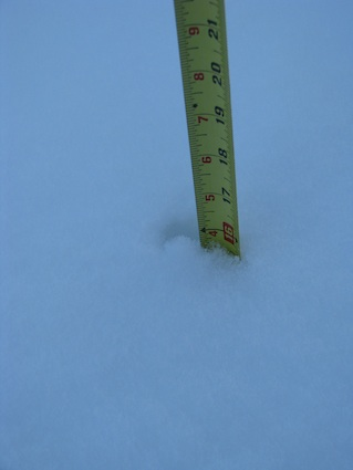 Sixteen Inches of Snow