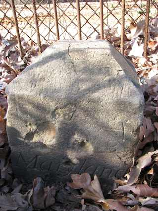 Washington Boundary Stone Northeast 7
