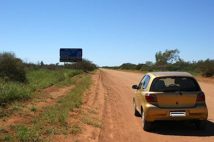 Road from Carnarvon