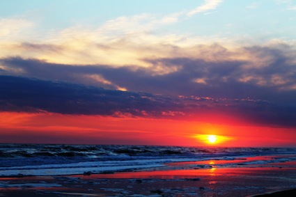 Pine Knoll Shores Sunset