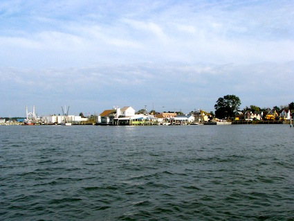 Chincoteague Viewed from the Water
