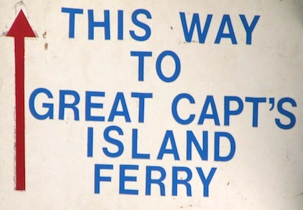 Great Captains Island Ferry