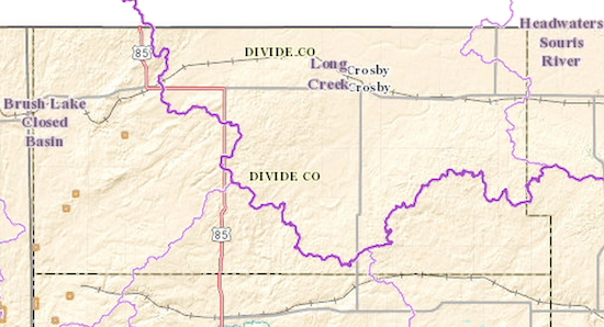 Divide County North Dakota