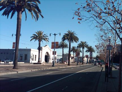 The Embarcadero in San Francisco