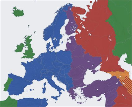 Time Zones in Europe