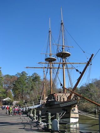 Replica Ships at Jamestown