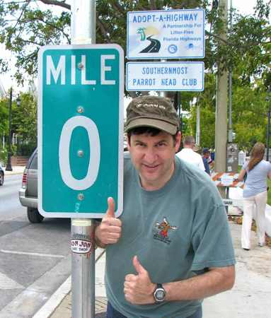 Route 1 Zero Mile Marker