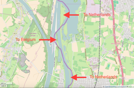 Netherlands Belgium Border Adjustment