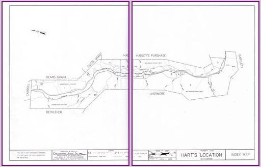 Town of Hart's Location Map