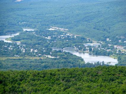 Port Jervis, New York from the NJ Highpoint