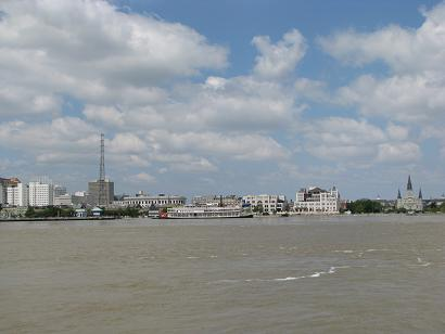 New Orleans Skyline from Algiers Point