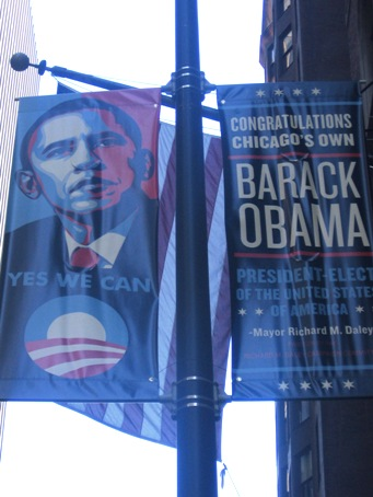 Chicago's Pride in President-Elect Barack Obama
