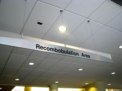 Milwaukee Airport Security Sign