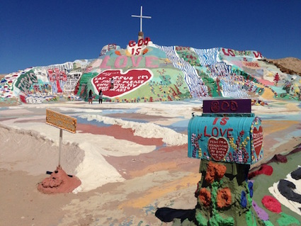 Salvation Mountain Salton Sea