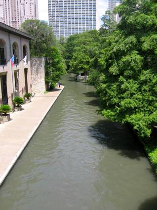 The Famous River Walk in San Antonio, Texas