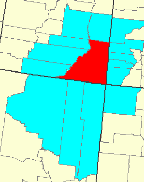 Counties Adjacent to San Juan Co. Utah