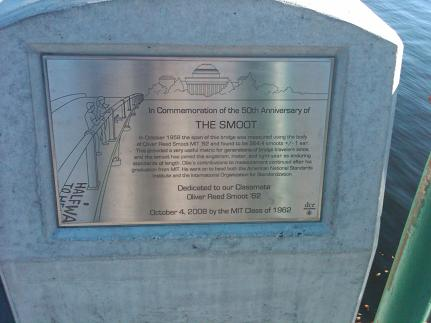 Smoot 50th Anniversary Marker