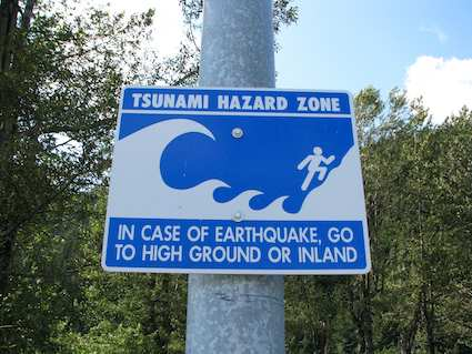 Tsunami Danger Warning