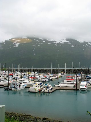 Harbor at Whittier Alaska