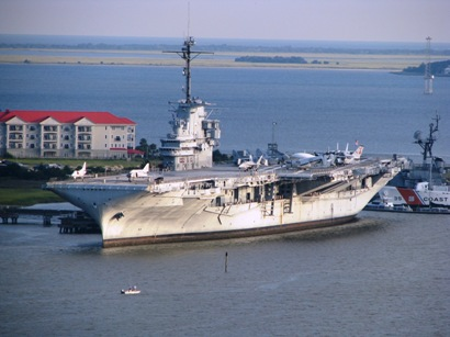 USS Yorktown at Patriots Point