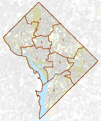 District of Columbia Visited with map highpoint capitol and facts