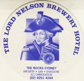 Lord Nelson Brewery Coaster