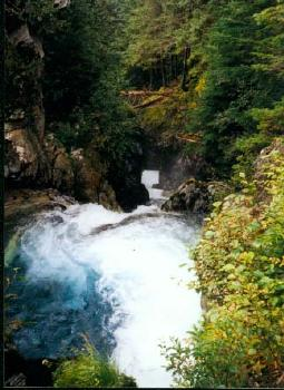 Juneau Waterfall