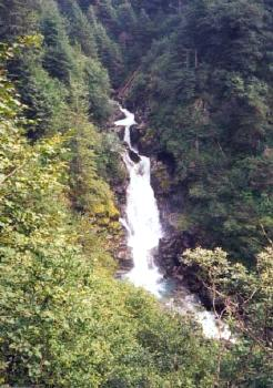 Juneau Alaska Waterfall