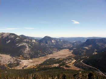 Rocky Mountain National Park Overlook