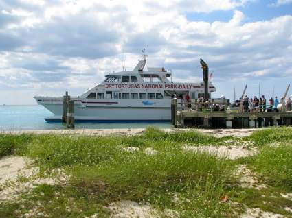 Ferry at Fort Jefferson