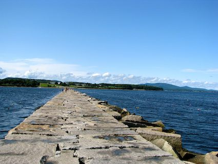 Walk the Breakwater