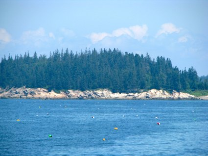 Approaching Vinalhaven Island by Water