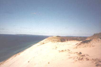 Lake Michigan Sand Dune