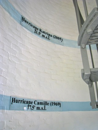Hurricane Katrina Flood Marker