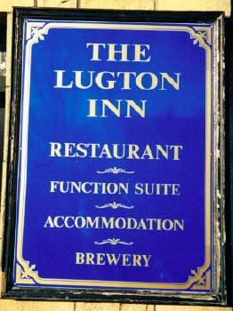 [Lugton Brewery Sign]