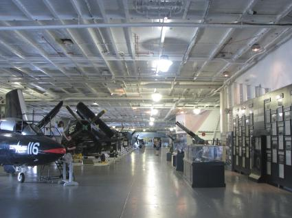 Aircraft Carrier Hanger Bay