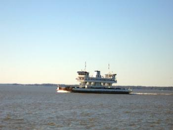 Ferry in Motion
