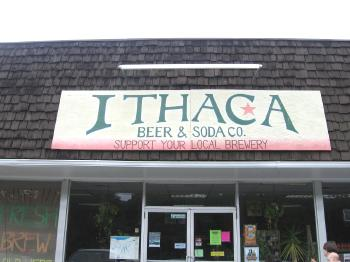 Ithaca Beer Co. - entrance