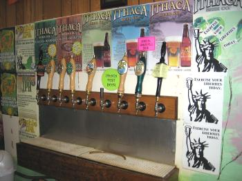 Ithaca Beer Co. - taps