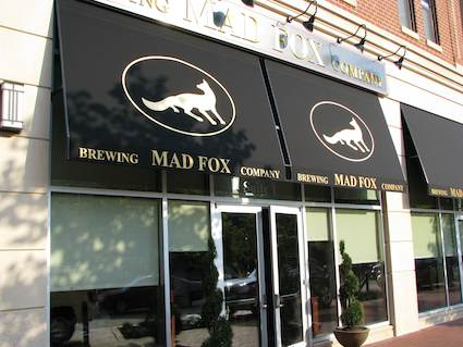 Mad Fox Brewing Company Breweriana Amp Map