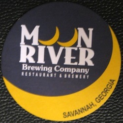 Moon River Brewing Company Coaster