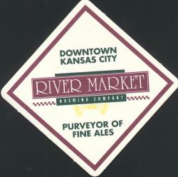River Market Brewing Company Coaster