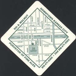 River Market Brewing Company Coaster - Back