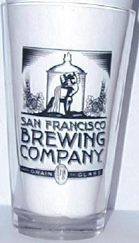 San Francisco Brewing Company Pint Glass