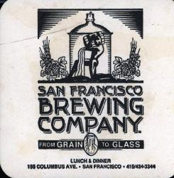 San Francisco Brewing Company Coaster